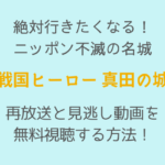 絶対行きたくなる! ニッポン不滅の名城 「真田の城」,画像