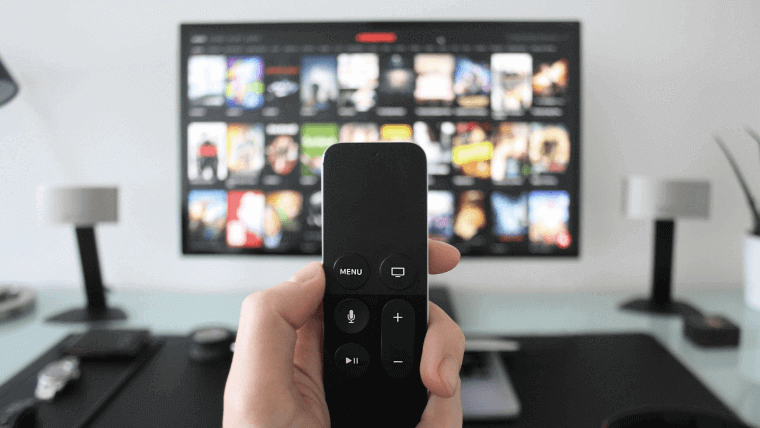 TVとリモコン,画像