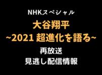 NHKスペシャル 「大谷翔平2021」テキスト,画像